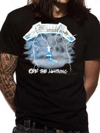 Metallica (Ride The Lightning) T-Shirt Thumbnail 1