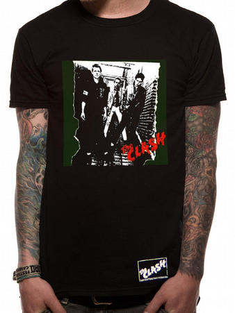 The Clash (First Album) T-Shirt Preview