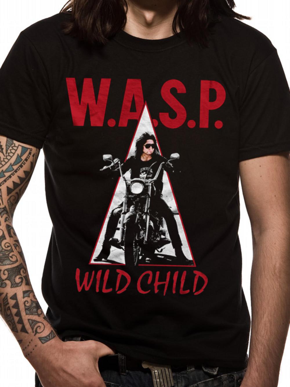 W A S P Wild Child T Shirt Tm Shop