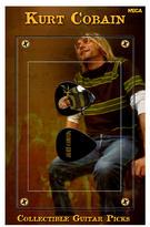 Kurt Cobain ? Collectible Guitar Picks - Green Sweater - NECA