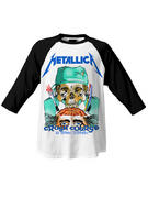 Metallica (Crash Course) Baseball Shirt
