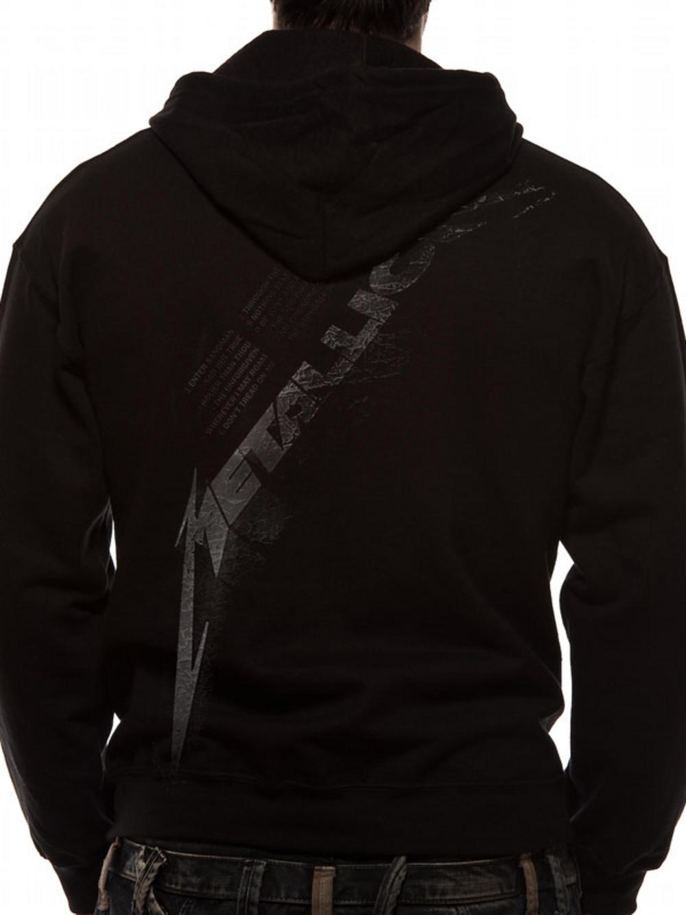 Metallica (Black Album Burnished) Hoodie. Buy Metallica (Black