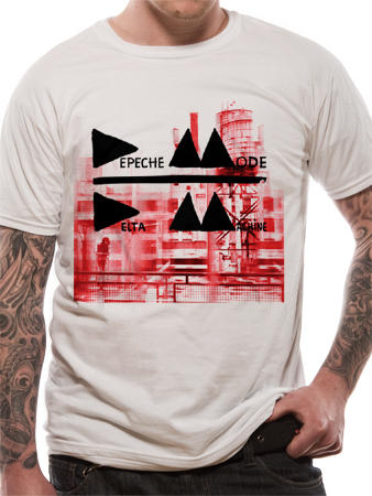 Depeche Mode (Delta Mens) T-Shirt Thumbnail 1