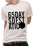 65daysofstatic (Big Text Cube) T-Shirt