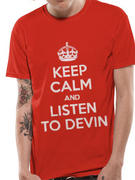 Devin Townsend Project (Keep Calm) T-Shirt Thumbnail 1
