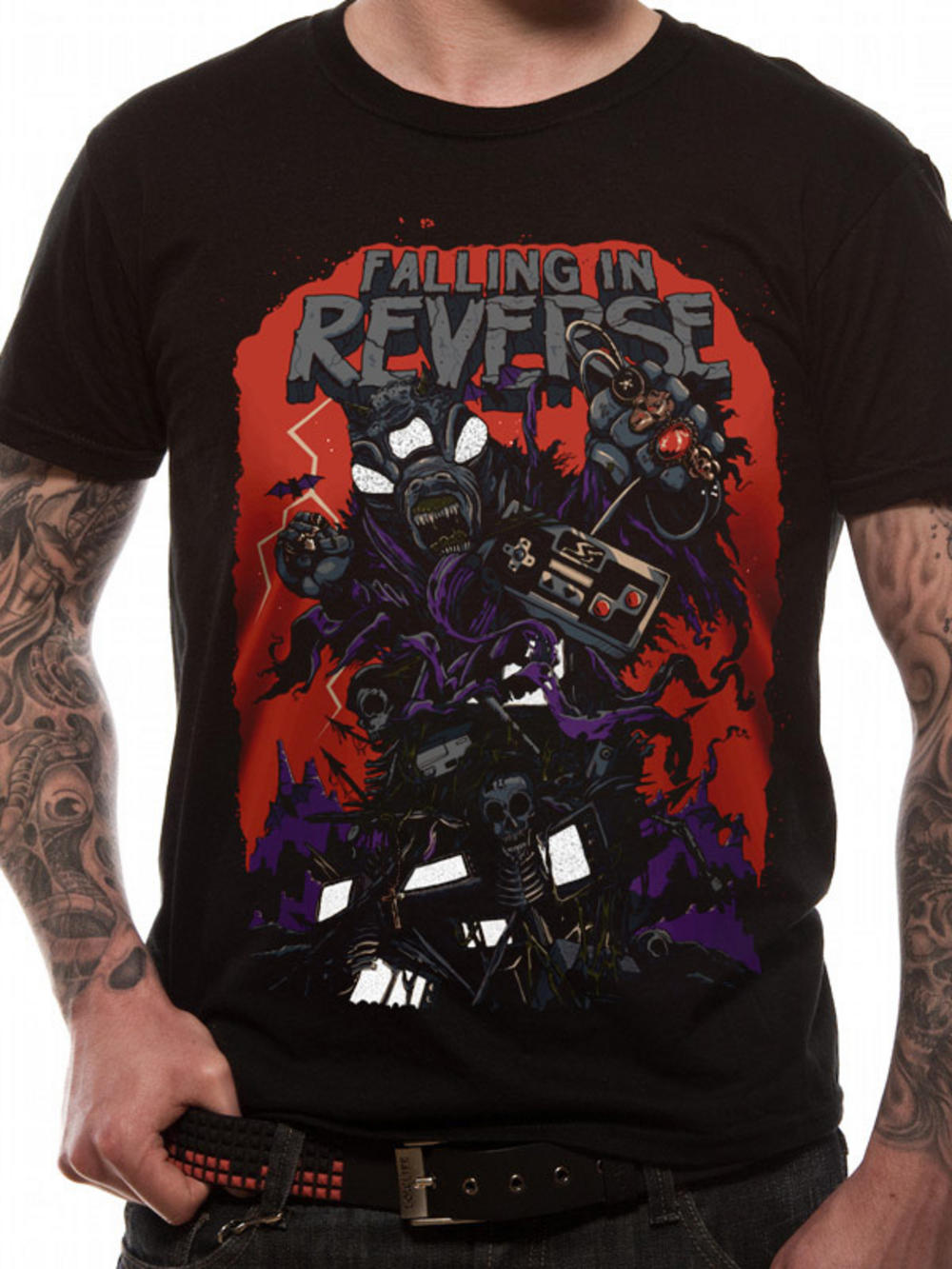 Falling In Reverse Video Game T Shirt Tm Shop