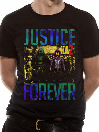 Kick Ass 2 (Justice Forever) T-shirt Preview