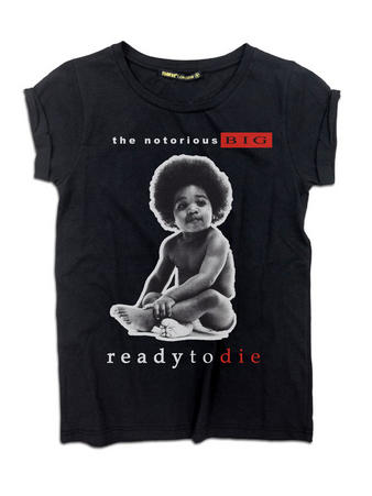 Notorious BIG (Ready To Die) Boyfriend Fit T-shirt