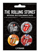 Rolling Stones (Two) Button Badge Pack