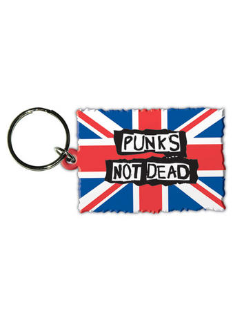 Punks Not Dead (Band) Rubber Keychain Preview