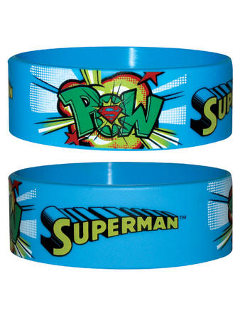 Superman (Pow) Wristband Preview