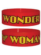 Wonder Woman (Logo Red) Wristband