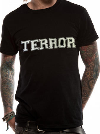 Terror (Big T) T-Shirt Preview