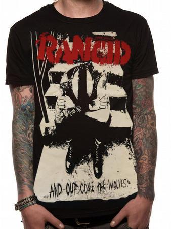 Rancid (Wolves Monster Print) T-shirt