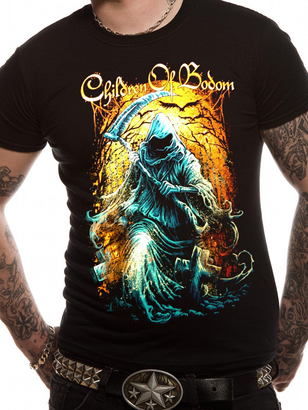 Official-Children-Of-Bodom-Grim-Reaper-T-shirt-All-sizes
