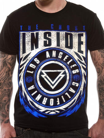 The Ghost Inside (LA Bolts) T-shirt Preview