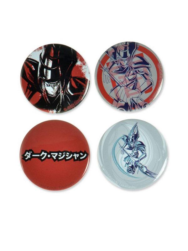 Official Yu-Gi-Oh (Dark Magician) 4 Pin Set