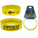 Pacific Rim (Knife Head) Rubber Bracelet