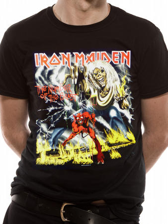 Iron Maiden (Number Of The Beast) T-shirt