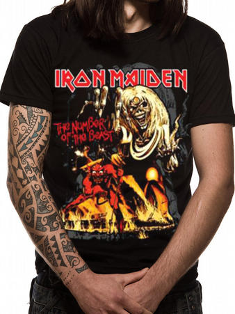 Iron Maiden (NOTB Graphic) T-shirt
