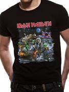 Iron Maiden (Moonbuggy Knebworth) T-shirt