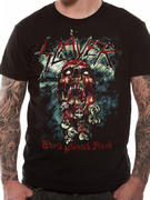 Slayer (Skull World Painted Blood) T-shirt