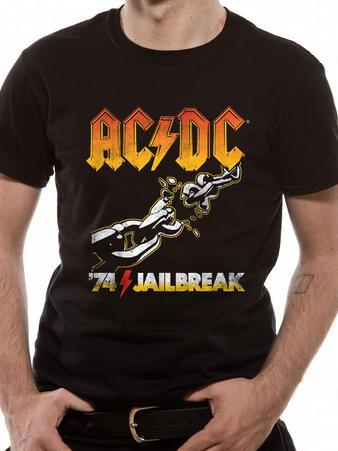 AC/DC (74 Jailbreak) T-shirt Preview