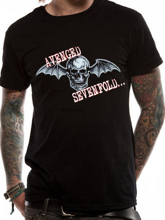 Avenged Sevenfold (Bat Skull Glow) T-shirt Preview