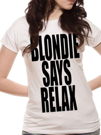 Blondie (Blondie Says Relax) T-shirt Preview