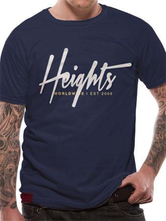 Heights (Script Logo) T-shirt Preview