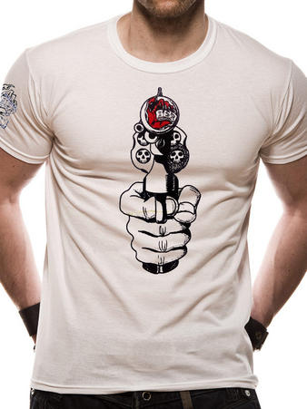 I Scream Records (Gun) T-shirt Preview