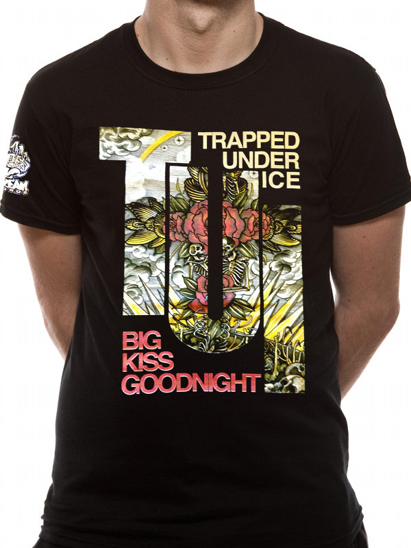 Trapped-Under-Ice-Big-Kiss-Goodnight-T-shirt-Imported-Short-Sleeved-T-shirt
