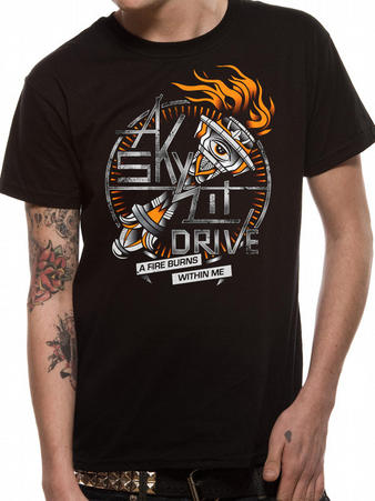 A Skylit Drive (A Fire Burns Within Me) T-shirt Preview