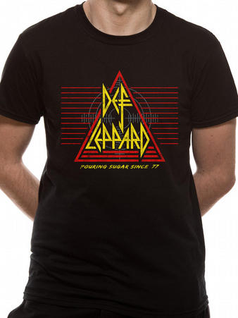 Def Leppard (Pouring Sugar Since 77) T-shirt Preview
