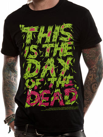 Ink Clothing The Blackout (Day Of The Dead Lyrics) T-shirt Preview