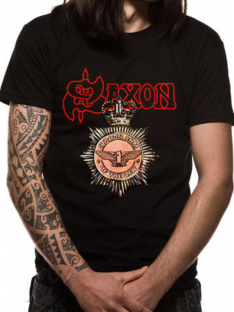 Saxon (Strong Arm Of The Law) T-shirt Preview