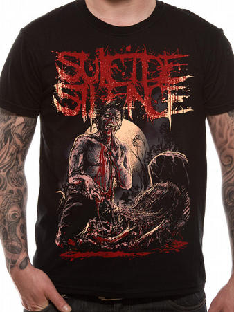 Suicide Silence (Grave) T-shirt Preview