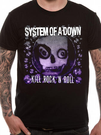 System Of A Down (Death To Rock N Roll) T-shirt Preview