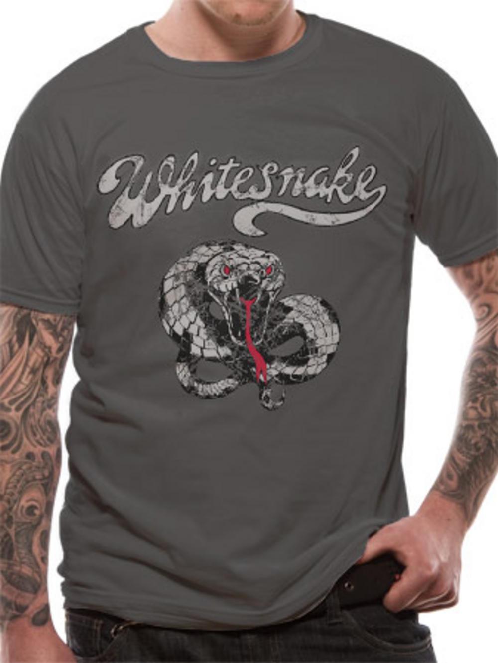 Whitesnake (Make Some Noise) T-shirt Pre-order Release W/C 27th April