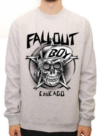 Fall Out Boy (Skull) Crew Neck Preview