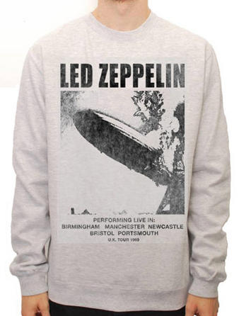 Led Zeppelin (Performing Live) Crew Neck Preview
