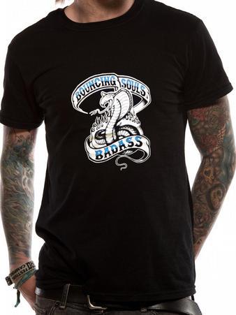 Bouncing Souls (Badass Cobra) T-shirt