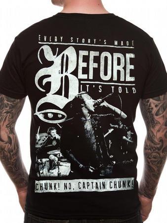 Chunk! No, Captain Chunk! (Story) T-shirt Thumbnail 2