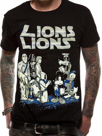 Lions Lions (VS.) T-shirt Preview