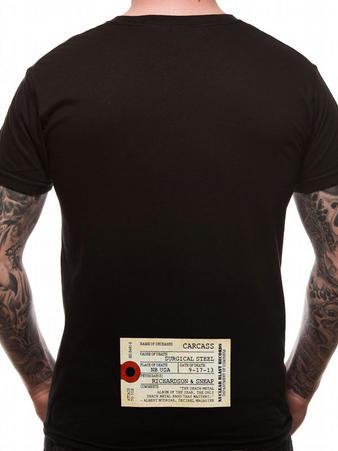 Carcass (Surgical Steel) T-shirt Thumbnail 2
