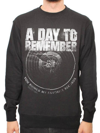 A Day To Remember (Broken Record) Crew Neck Preview