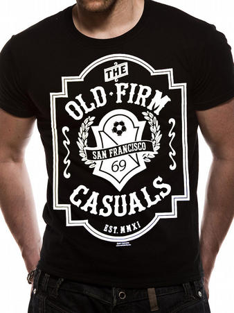 The Old Firm Casuals (Logo) T-shirt Preview