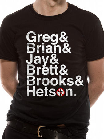 Bad Religion (Names aka The Fab Six) T-shirt Preview
