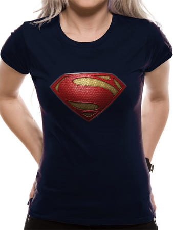 Man Of Steel (Textured Logo) T-shirt Preview