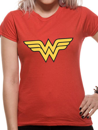 Wonder Woman (Logo) T-shirt Preview